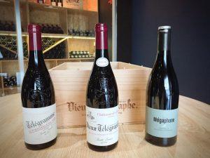 Les vins de la famille Brunier